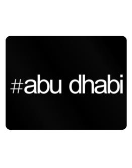 Hashtag Abu Dhabi Parking Sign - Horizontal