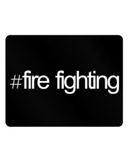 Hashtag Fire Fighting Parking Sign - Horizontal