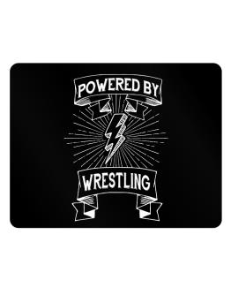 Powered by Wrestling Parking Sign - Horizontal
