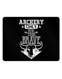 Archery Only for the Brave Parking Sign - Horizontal