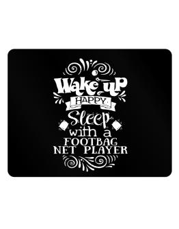 Wake up happy sleep with a Footbag Net Player Parking Sign - Horizontal