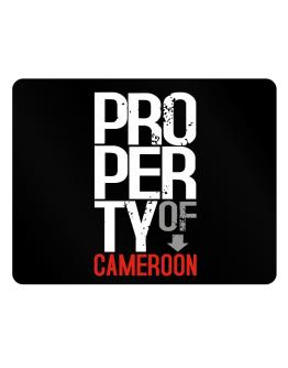 Property of Cameroon Parking Sign - Horizontal