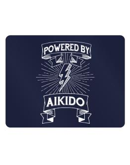 Powered by Aikido Parking Sign - Horizontal