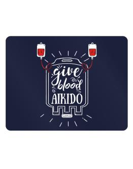 Give blood, Aikido Parking Sign - Horizontal