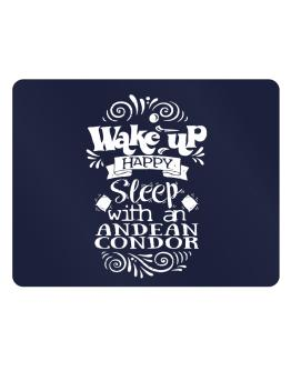 Wake up happy sleep with a Andean Condor Parking Sign - Horizontal