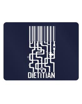 Barcode Dietitian Parking Sign - Horizontal