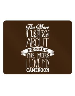 The more I learn about People the more I love my Cameroon Parking Sign - Horizontal
