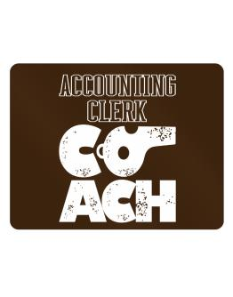 Accounting Clerk Coach Parking Sign - Horizontal