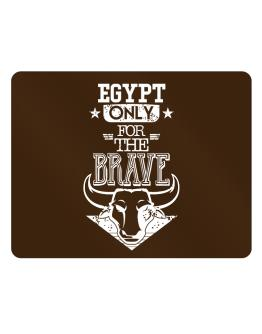 Egypt Only for the Brave Parking Sign - Horizontal