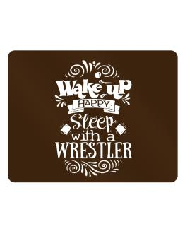 Wake up happy sleep with a Wrestler Parking Sign - Horizontal