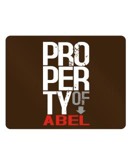 Property of Abel Parking Sign - Horizontal