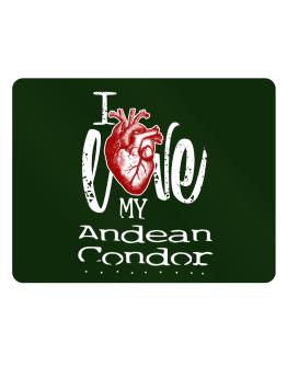 I love my Andean Condor hearts Parking Sign - Horizontal