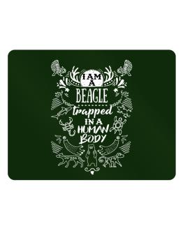 I am a Beagle trapped in a human body Parking Sign - Horizontal