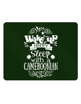 Wake up happy sleep with a Cameroonian Parking Sign - Horizontal