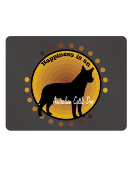 """"""" Happiness is Australian Cattle Dog """" Parking Sign - Horizontal"""
