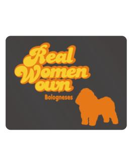 Real Woman own Bologneses Parking Sign - Horizontal
