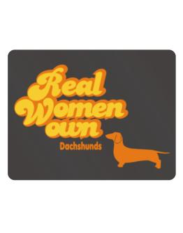 Real Woman own Dachshunds Parking Sign - Horizontal