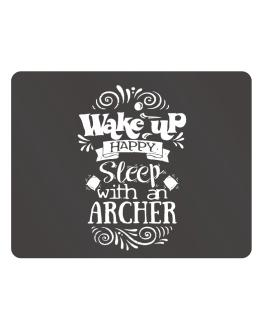 Wake up happy sleep with a Archer Parking Sign - Horizontal