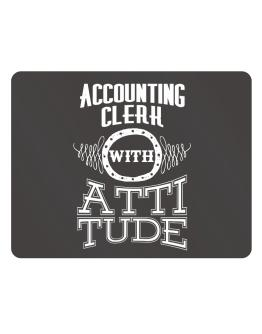 Accounting Clerk with attitude Parking Sign - Horizontal