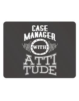 Case Manager with attitude Parking Sign - Horizontal