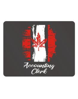 Accounting Clerk - Canada Parking Sign - Horizontal