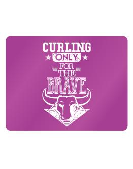 Curling Only for the Brave Parking Sign - Horizontal