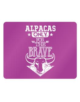 Alpacas Only for the Brave Parking Sign - Horizontal