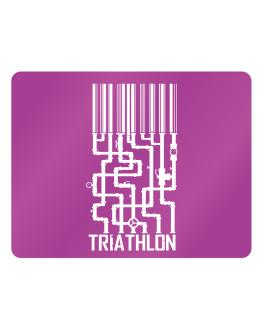 Barcode Triathlon Parking Sign - Horizontal
