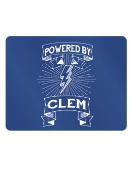 Powered by Clem Parking Sign - Horizontal