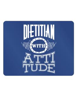 Dietitian with attitude Parking Sign - Horizontal