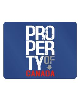 Property of Canada Parking Sign - Horizontal