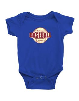 Baseball League Nutmegger Baby Bodysuit