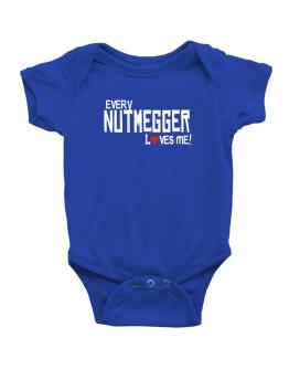 Every Nutmegger Loves Me Baby Bodysuit