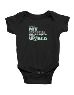 I And My Handbells Will Conquer The World Baby Bodysuit