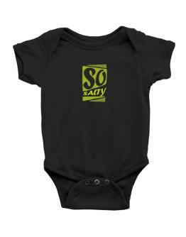 So Salty Baby Bodysuit