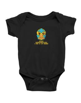 Play Handbells I Did It At Home Baby Bodysuit