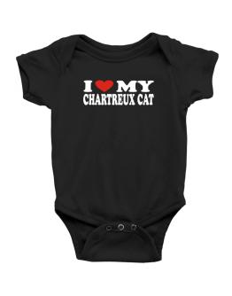 I Love My Chartreux Baby Bodysuit