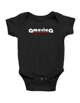 A-merica Connecticut Baby Bodysuit