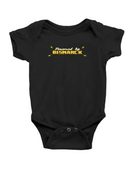 Powered By Bismarck Baby Bodysuit