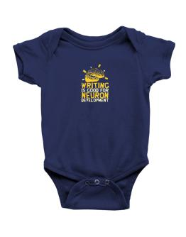 Writing Is Good For Neuron Development Baby Bodysuit