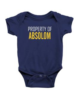 Property Of Absolom Baby Bodysuit