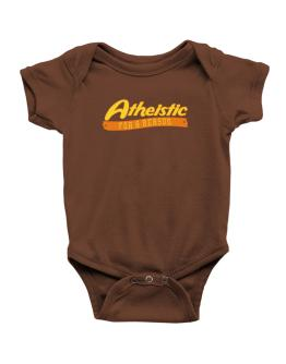 Atheistic For A Reason Baby Bodysuit