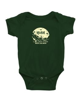 Believe Roswell, New Mexico Baby Bodysuit
