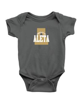 Property Of Aleta Baby Bodysuit
