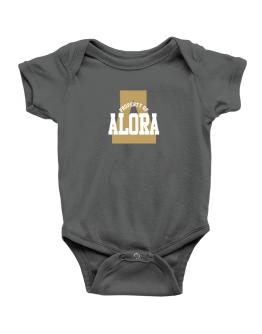 Property Of Alora Baby Bodysuit