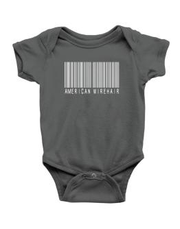 American Wirehair Barcode Baby Bodysuit