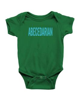 Abecedarian - Simple Baby Bodysuit