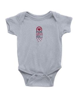 In Love With A Handbells Baby Bodysuit