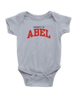 Property Of Abel Baby Bodysuit