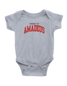 Property Of Amadeus Baby Bodysuit